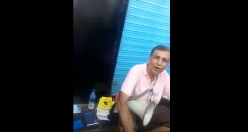 Video : Christian missionary abusing Hindu Gods in public in India