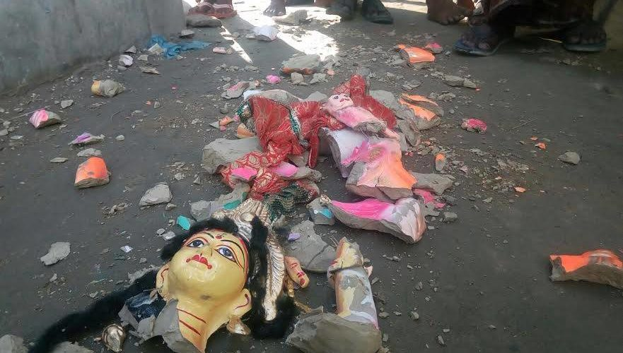 Rampage over Hindus in B'baria