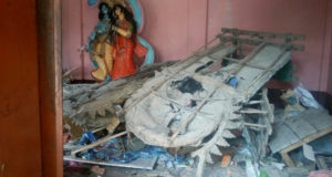 Hindu temple vandalised, 3 Deities smashed in Bangladesh