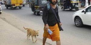 Heartwarming story of a dog who walked 600km to keep a Sabarimala pilgrim company