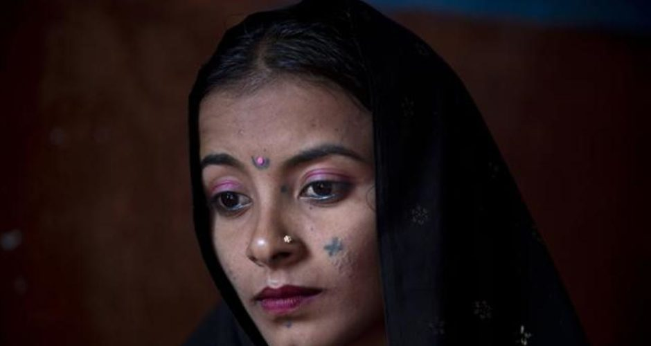 A Pakistani Hindu girl is snatched away, payment for a family debt