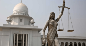 Bangladesh Muslims protest against justice goddess statue