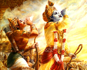 Why Did Krishna Choose Arjuna Instead Of Karna Drona Or Bhishma Hindu Human Rights Worldwide